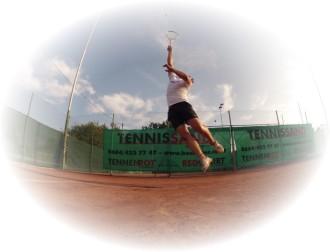 Tennisbox - Tennissand - Tenniszubehör - Tennisnetz